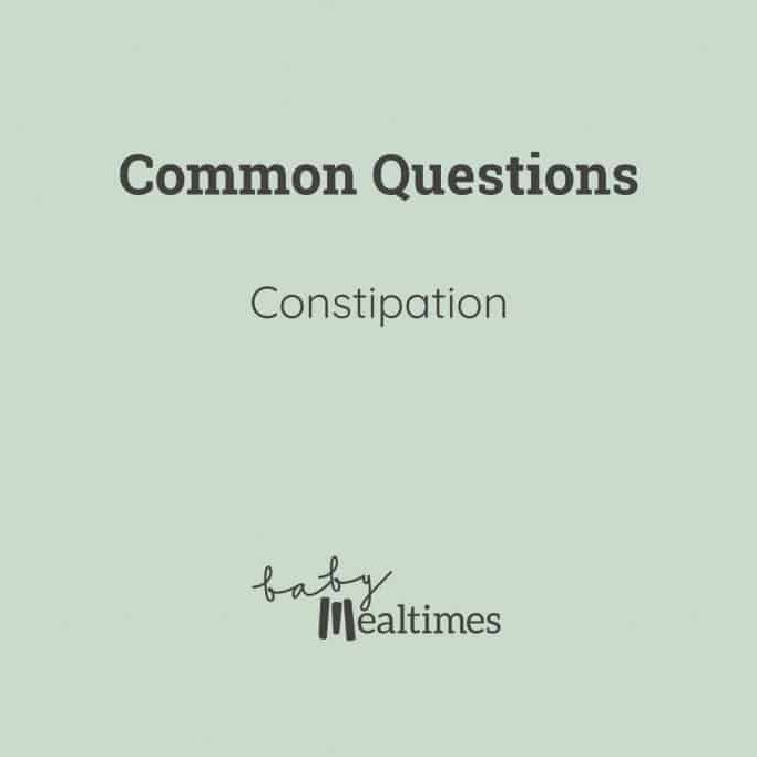 Constipation-baby-mealtimes