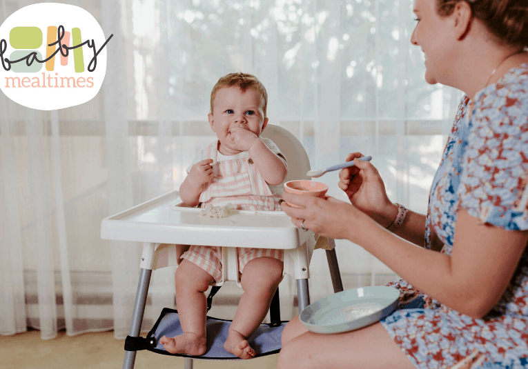 Highchair-baby-mealtimes