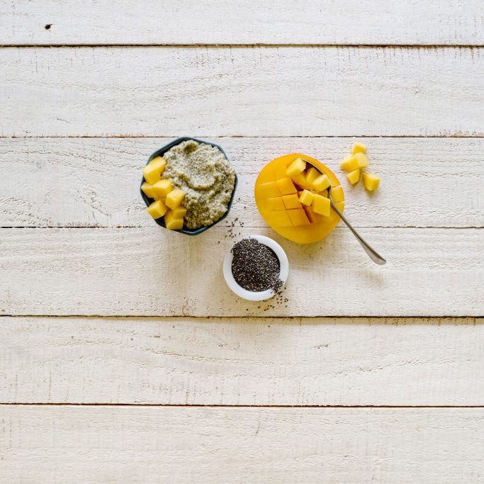 Tropical-chia-pudding-baby-mealtimes